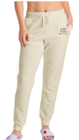 Women's Velvet Logo Powerblend Fleece Joggers