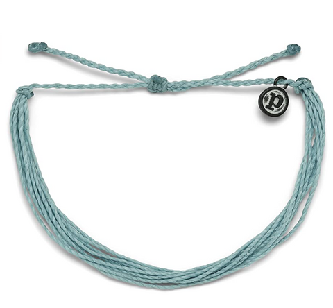 Solid Smoke Blue Bracelet