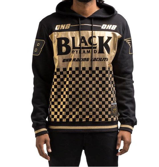 Gold Checker Hoody