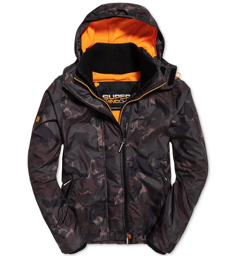 Arctic Hooded Windcheater Jacket