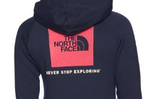 Women's Red Box Pullover Hoodie