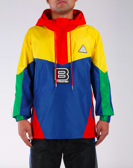 Black Pyramid Windbreaker
