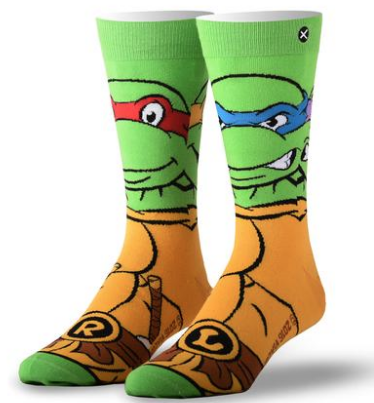 Retro Turtles Socks