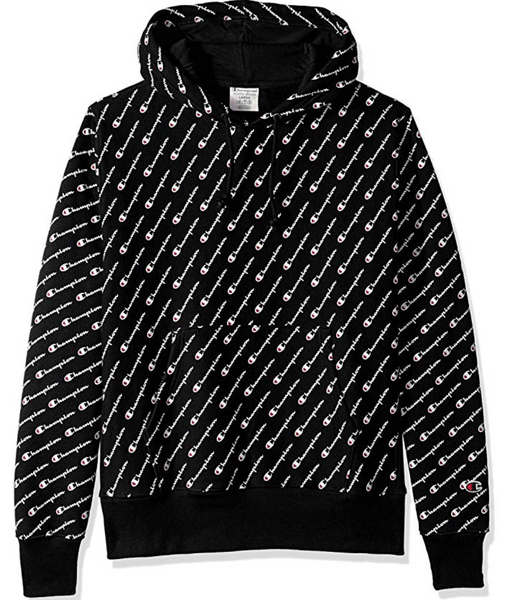 Champion Life® Men's Reverse Weave® All-over Logo Pullover Hood