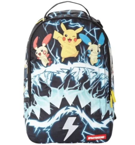Pokemon Pikachu Electric Shark Backpack