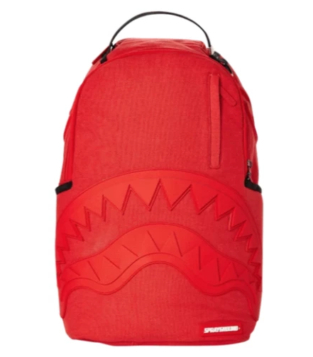 Red Ghost Rubber Shark Backpack