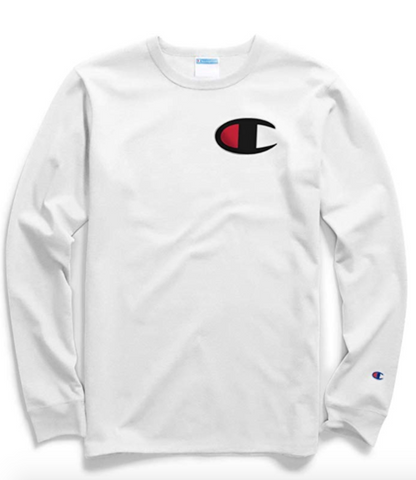 Men's Heritage C Logo Long Sleeve Tee