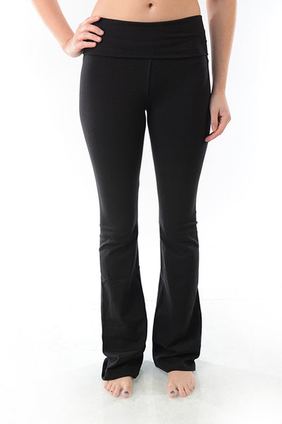 T-Party Foldover Yoga Pant