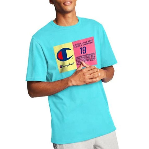 Men's Pop Color Jock Tag Heritage Tee