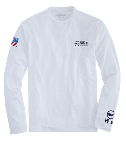 Men's Sailing Long Sleeve Performance Tee
