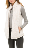 Faux Sherpa Fleece Vest