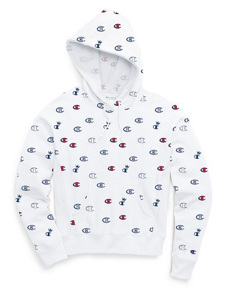 Champion Life® Women's Reverse Weave® All-over Logo Pullover Hood