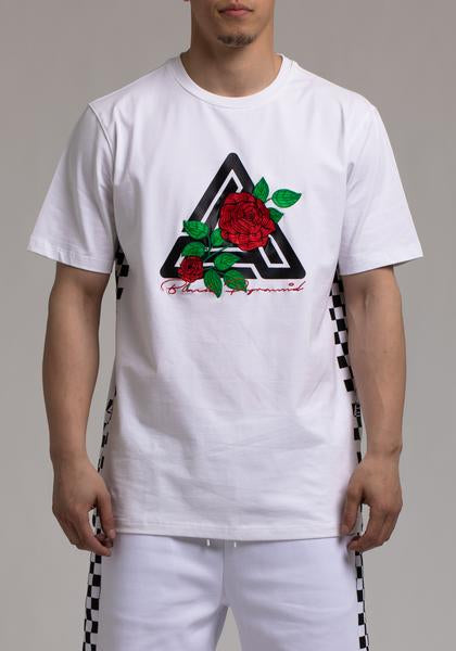 Rose & Pyramid Logo Tee