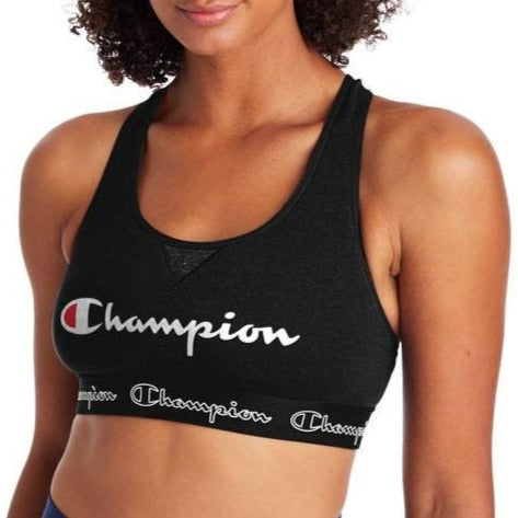 The Authentic Script Logo Sports Bra