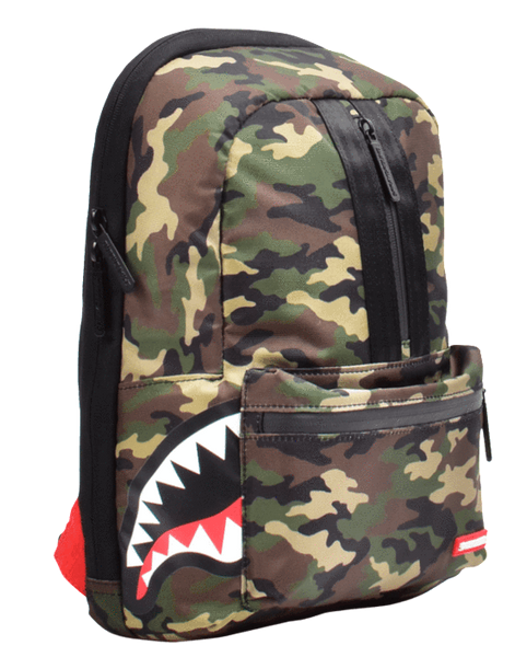 One Strap Side Shark Backpack