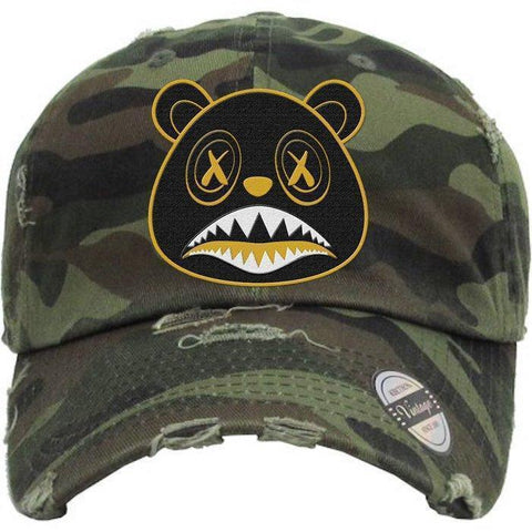 Blackout Gold Army Camo Dad Hat