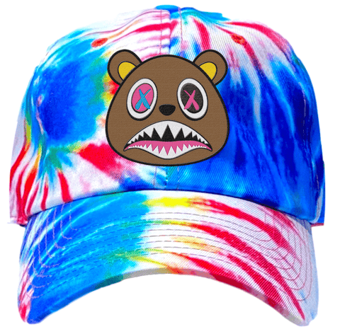 Crazy Baws Tie Dye Dad Hat