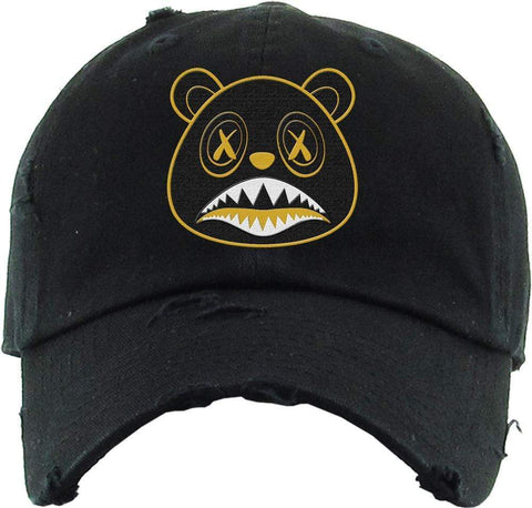 Blackout Gold Baws Hat