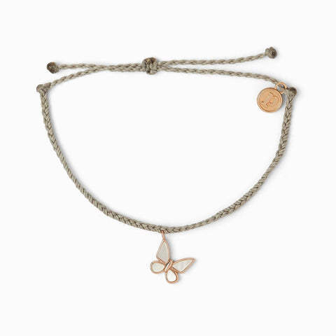 Save The Butterflies Charm Bracelet