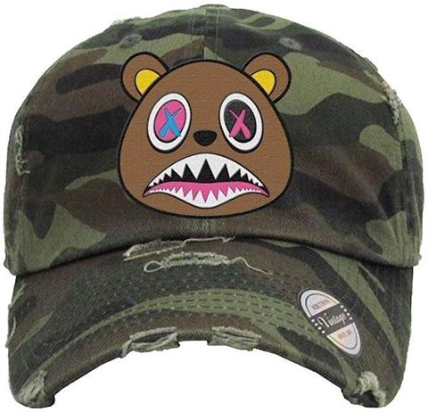 Crazy Baws Camo Dad Hat