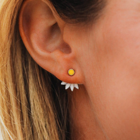 Daisy Jacket Earrings