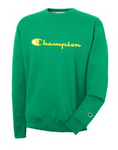 Men's Champion Script Logo with Powerblend® Crew