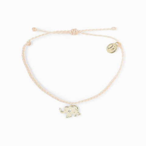 Save The Elephants Charm Bracelet