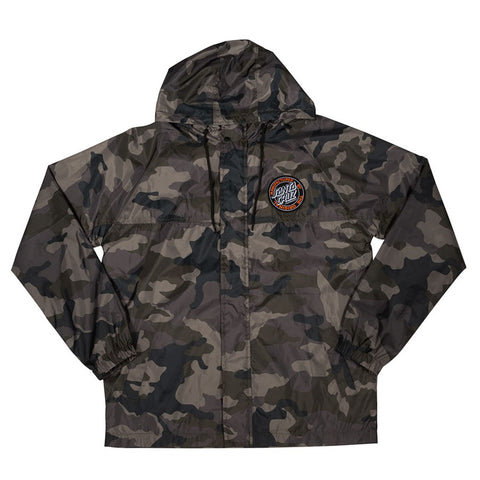 Santa Cruz Hooded Windbreaker Jacket