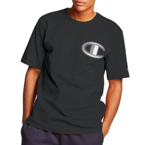 Men's Heritage Floss Stitch C Logo Tee