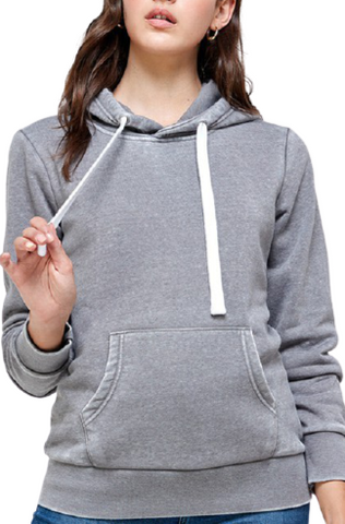Burnout Fleece Pullover