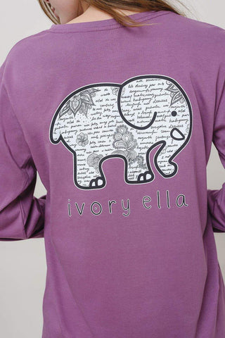 Ella Fit Notes Tee