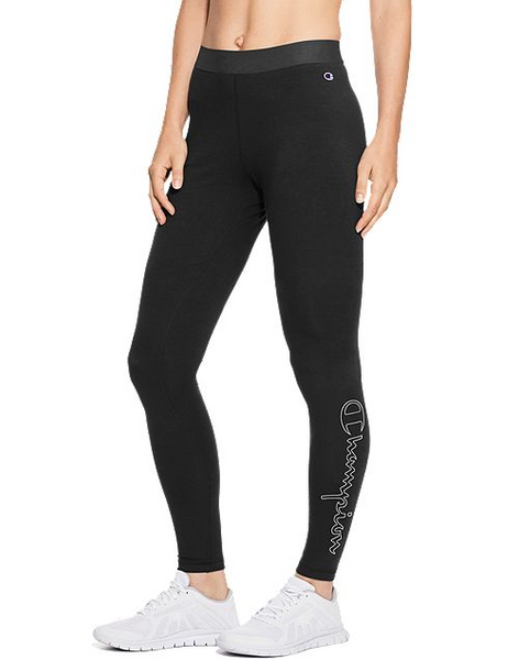 Outline Vertical Logo Leggings