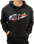 Men's Long Island Strong American Flag Hoodie