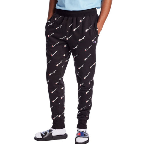 Champion Life® Men's Reverse Weave® All-over Logo Joggers