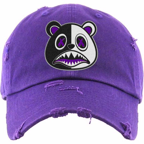 Purple Scar Hat