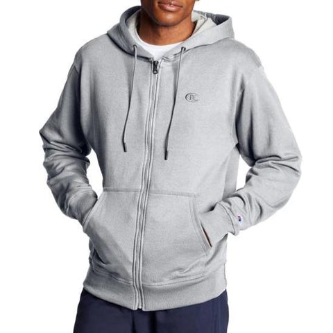 Men's Powerblend Fleece Full Zip Hoodie