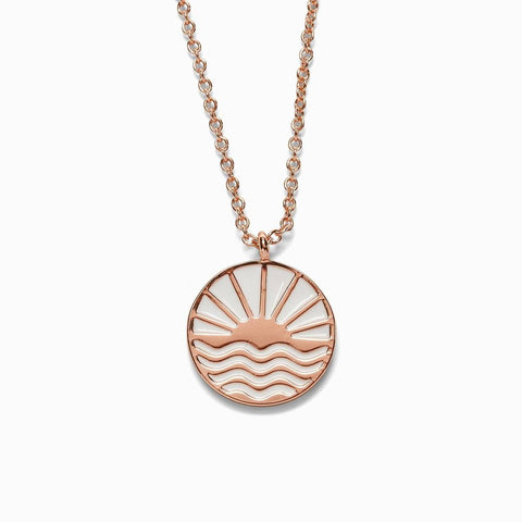 Sunrise To Sunset Necklace