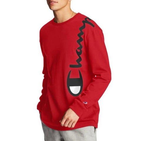 Men's Heritage Over The Shoulder Logo Long-Sleeve Tee