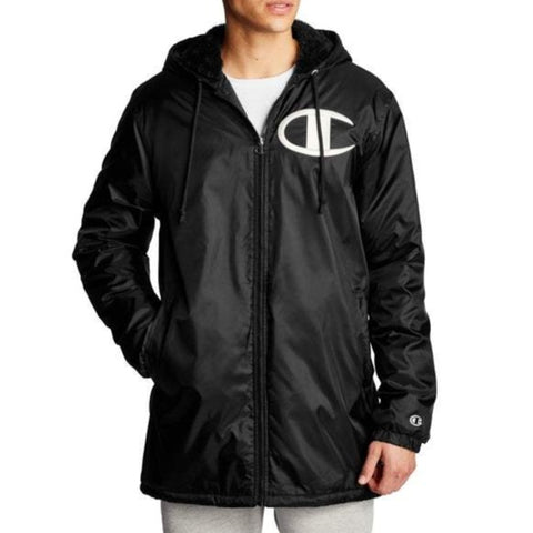 Men's Sherpa-Lined Stadium Jacket