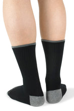 Load image into Gallery viewer, Adult Black Socks