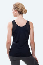 Load image into Gallery viewer, Violet Black Tank Top