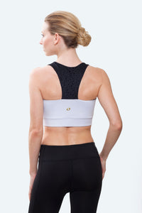 Ellie White Crop Top