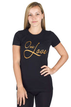 Load image into Gallery viewer, Black One Love Tee