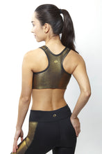 Load image into Gallery viewer, Gin Gold Sports Bra