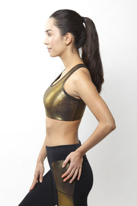 Gin Gold Sports Bra