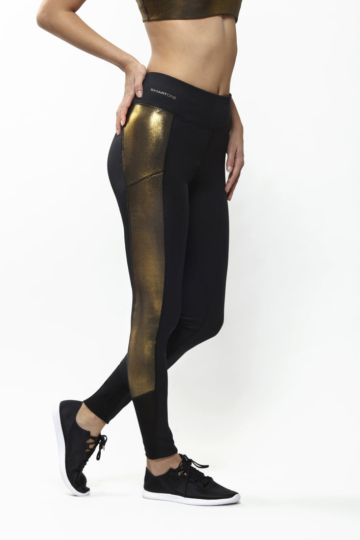 Grace Gold Leggings
