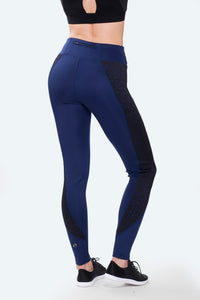 Paris Navy Leggings