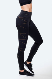 Paris Black Leggings