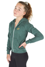 Load image into Gallery viewer, Green Zip Up Hoodie