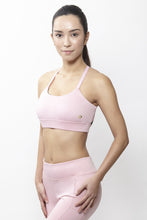 Load image into Gallery viewer, Eva Pink Sports Bra